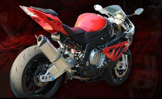 Kupić Wydechy motocyklowe ze stali nierdzewnej żaroodpornej, efekt chromu.