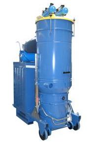 Kupić Odkurzacz do najcięższych prac z pneumatycznym, automatycznym oczyszczaniem filtrów i separatorem cyklonowym