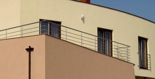Kupić Balustrady balkonowe ze stali kwasoodpornej,