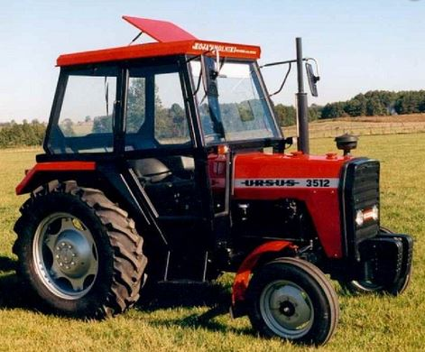 Kupić Kabina do ciągnika MF-255 / 3512
