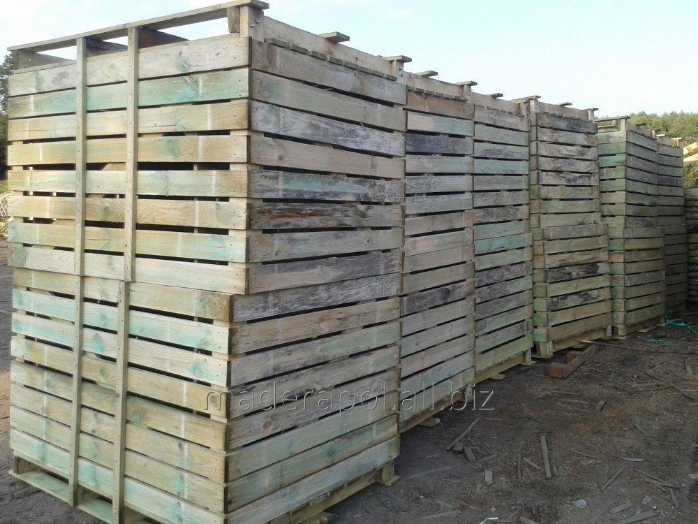 Kupić Skrzyniopalety drewniane .