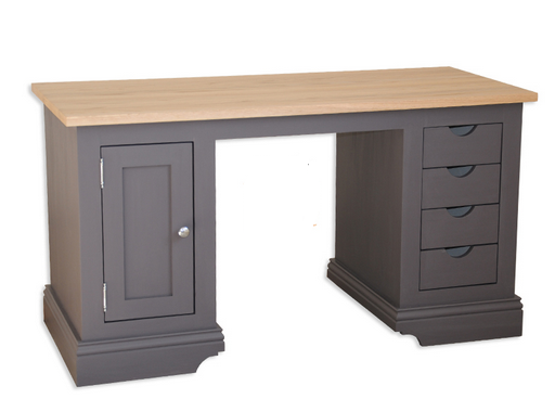 Kupić Drewniane biurko z dębowym blatem Prowansja Lux18