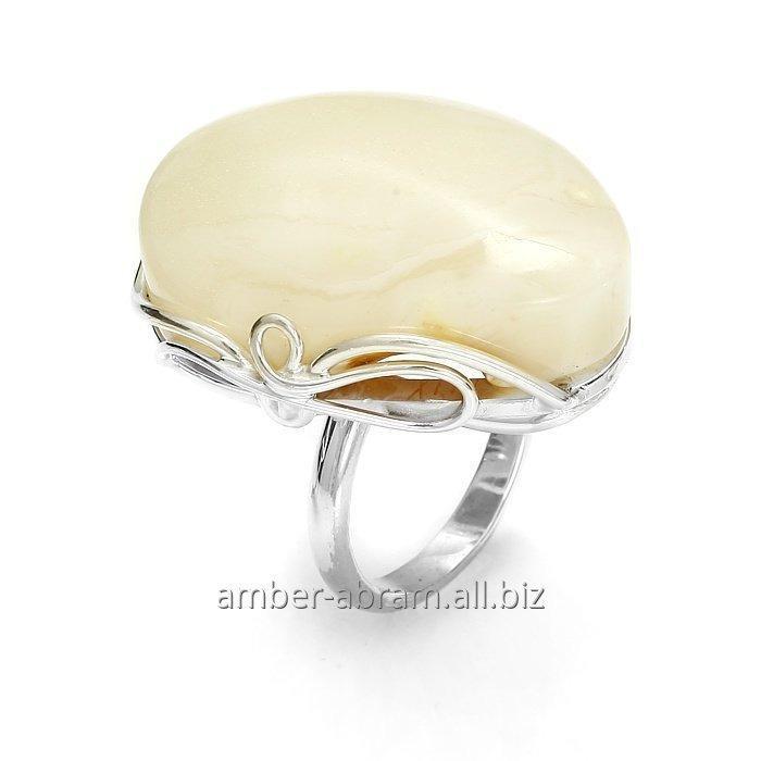 Kupić Srebrne pierścionki z różnokolorowymi bursztynami