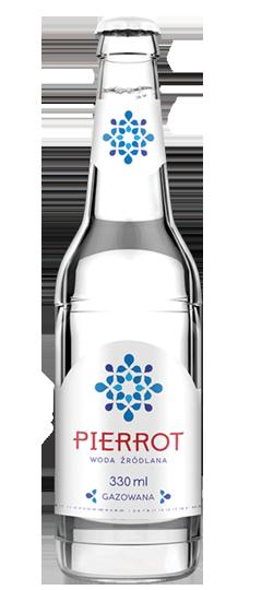 Kupić Woda źródlana gazowana Pierrot 0,33l