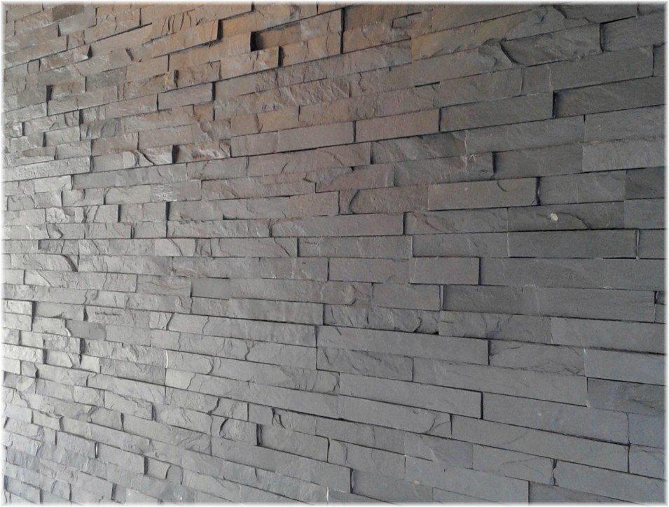 Kupić Kamień dekoracyjny Czarny panel 10x40