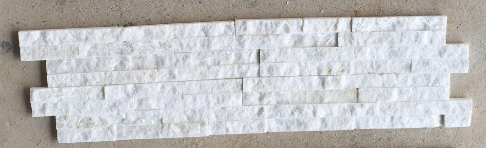 Kupić Kamień dekoracyjny Biały kwarc panel 10x40