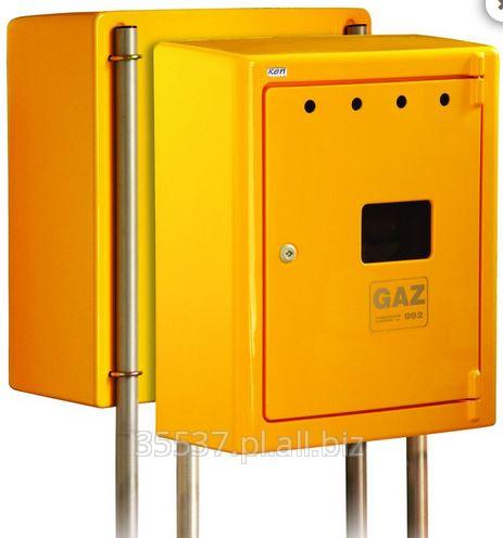 Kupić Skrzynka gazowa, do montażu węzła redukcyjno-pomiarowego (reduktor + gazomierz) przyłącza gazu średniego ciśnienia lub punktu pomiarowego (gazomierza) przyłącza gazu niskiego ciśnienia