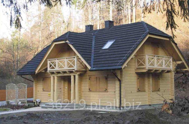 Kupić Domy drewniane jednorodzinne o konstrukcji belkowej.