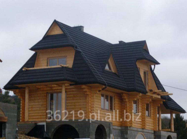 Kupić Energooszczędne domy drewniane z bala prostokątnego.