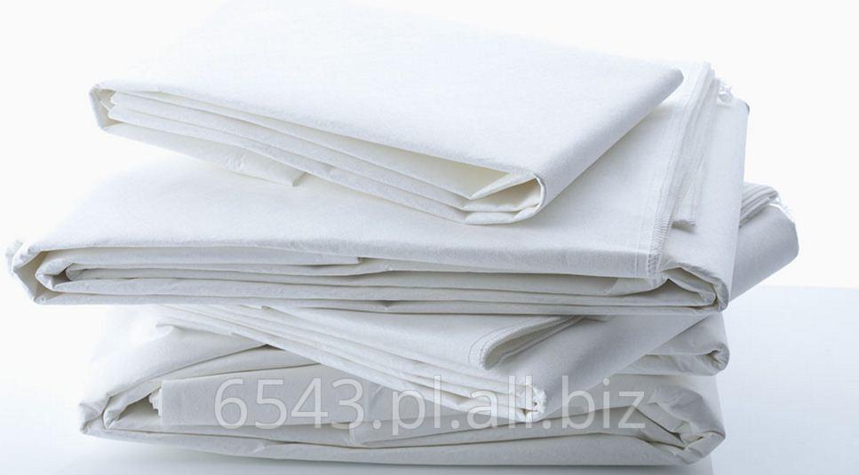 Kupić Prześcieradła medyczne bawełniane z możliwością laminacji warstwą nieprzepuszczalną.