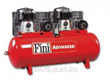 Kupić Kompresor tłokowy Fini 500 lt, dwustopniowy pasowy