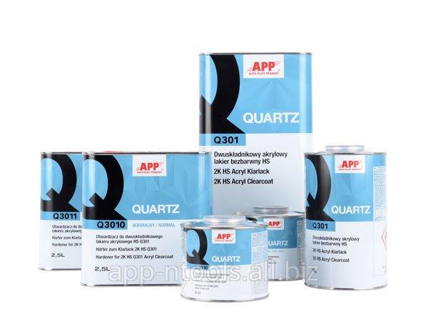 Kupić APP QUARTZ Q301 Lakier bezbarwny akrylowy dwuskładnikowy HS