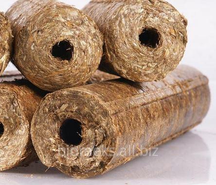 Kupić Brykiet ze słomy zbożowej, brykiety z biomasy, eksport