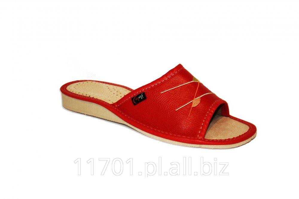 Kupić Pantofle regionalne,domowe,kapcie damskie.WZ051b