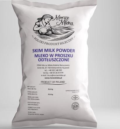 Kupić Mleko w proszku odtłuszczone