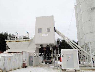Kupić Polskie betoniarnie stacjonarne Proton o wydajności od 30 do 160 m3 na godzinę.