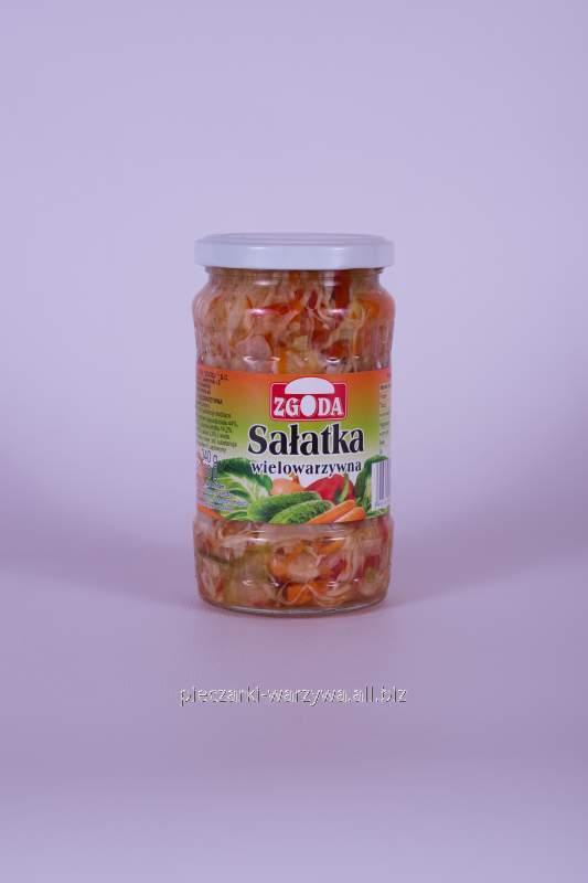 Sałatka wielowarzywna 370 ml