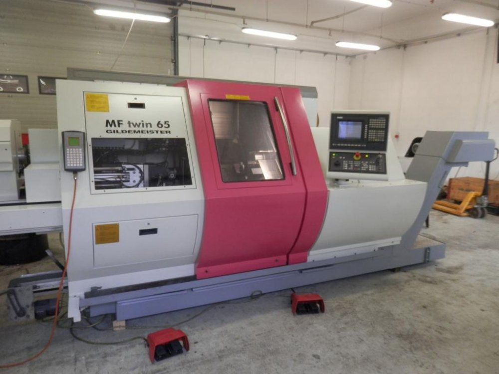 Kupić Tokarka Automat CNC GILDEMEISTER MF Twin 65 Y