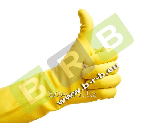 Kupić Rękawice gumowe gospodarcze