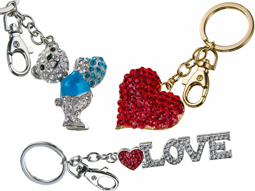 Kupić Brelok z kryształkami RÓŻNE MODELE