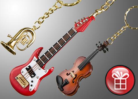 Kupić Brelok instrument RÓŻNE MODELE!