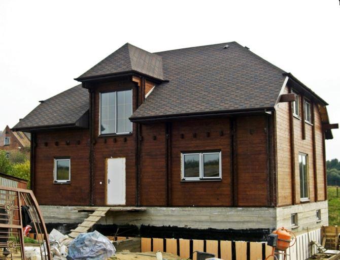 Domy z bali drewenianych - Bal konstrukcyjny