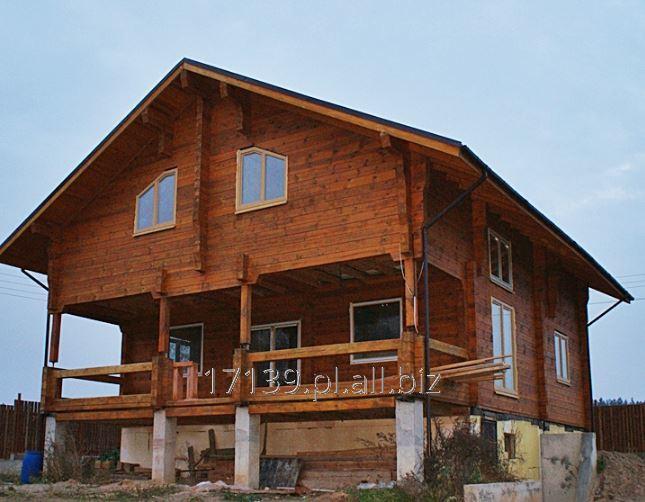 Kupić Domy drewniane z bali sosnowych kwadratowych i okrągłych.