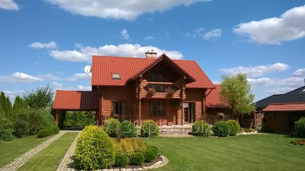 Kupić Budowa, renowacja, konserwacja domów z bali.