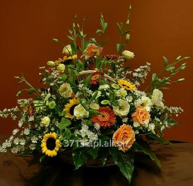Kupić Kosze okazjonalne z kwiatów stabilizowanych idealne na prezent.