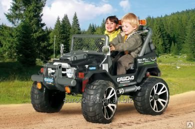 PEG PEREGO GAUCHO SUPERPOWER new 24V