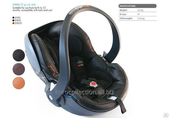 Детское автомобильное кресло MIMA BeSafe iZi Go