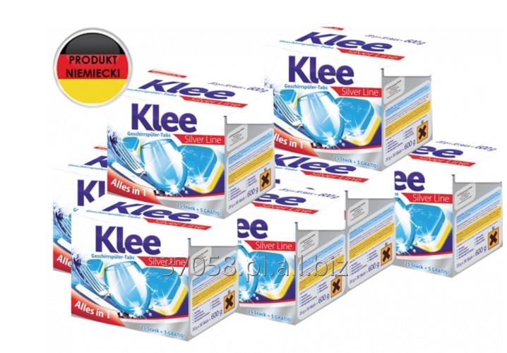 Kupić Niemieckie tabletki do zmywarki Klee Silver Line