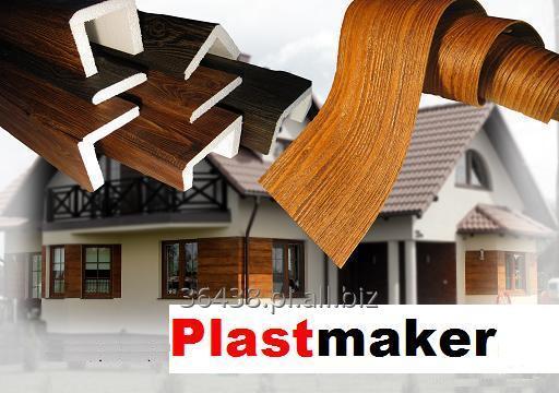 Kupić Tynk dekoracyjny drewnopodobny o strukturze drewna w rolce