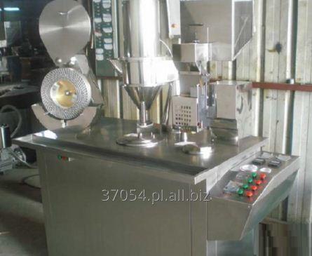 Kupić Kapsułkarka półautomatyczna do napełniania kapsułek żelatynowych 12 500-25 000 szt/h.