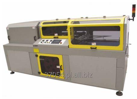 Kupić Zgrzewarka automatyczna do opakowań pojedynczych lub zbiorczych z tunelem obkurczającym.