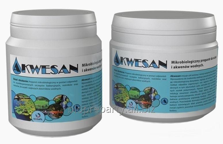 Akwesan - Mikrobiologiczny preparat do oczek i akwenów wodnych