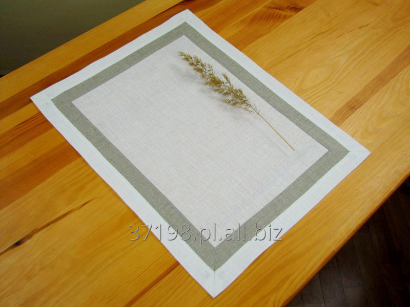 Kupić Serwetka wykończona dwuczęsciową plisą o szerokości 4 cm