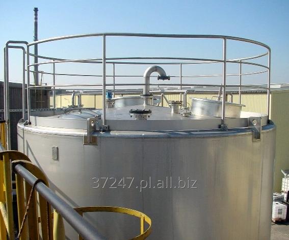 Kupić Zbiorniki do magazynowania produktów sypkich jak i płynnych, silos dostosowany do wymogów klienta.