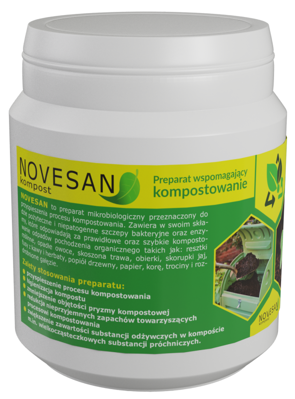 Kupić Preparat przyspieszający kompostowanie - Novesan