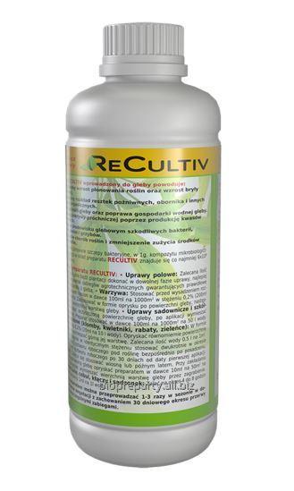 Preparat poprawiający żyzności gleby i plonowania - ReCultiv