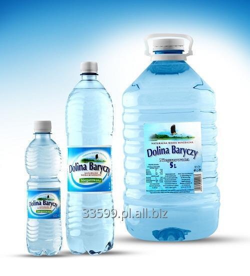 Kupić DOLINA BARYCZY , woda niegazowana, w pojemnościach 0,5L , 1,5L, 5L.