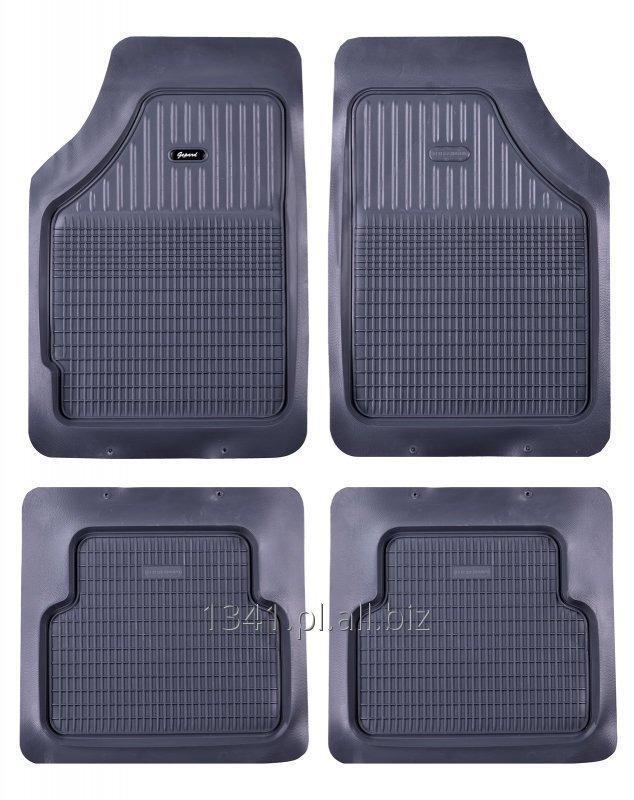Dywaniki gumowe samochodowe ze wzmocnieniem pod stopami