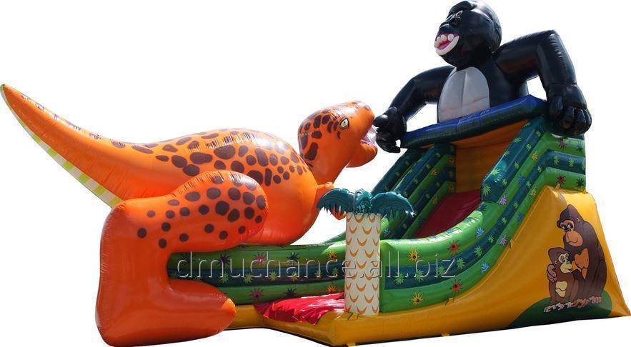 Kupić Zjeżdżalnia goryl i dinozaur, bardzo atrakcyjna i solidna