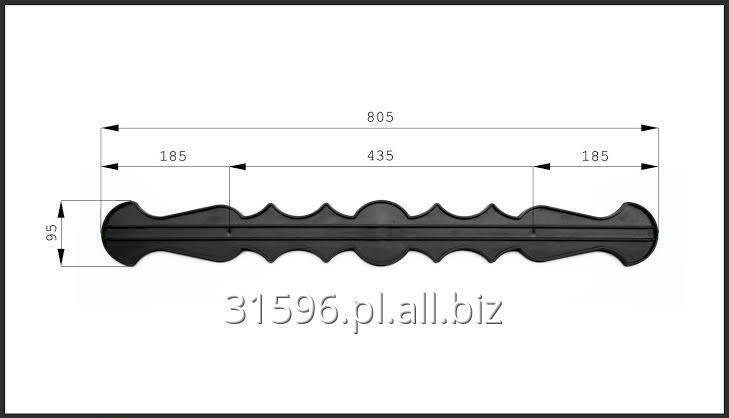 Kupić Sztacheta sztachety plastikowe pcv 80cm do ogrodu