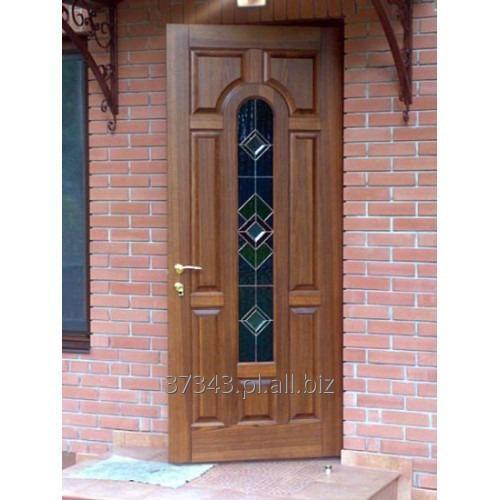 Kupić Eleganckie drzwi wejściowe na zamówienie.