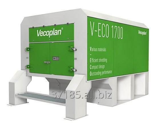 Kupić Rozdrabniacze jednowałowe Vecoplan do recyklingu V-eco