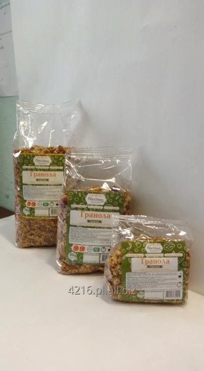 Kupić Granola orzechowa prażona na miodzie