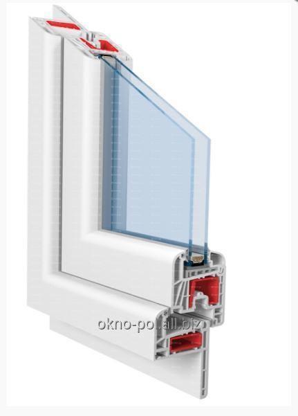 Okna PCV o podwyższonej izolacyjności termicznej  Eurofutur 5K Elegance
