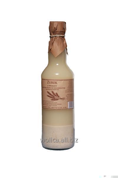 Kupić Barszcz Biały z Wolicy w szklanej butelce RAVIX
