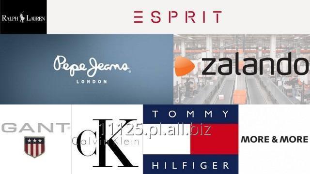 Kupić ZALANDO - palety z markową odzieżą